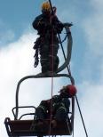 Jak se evakuuje lanovka