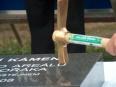 Tomáš Dvořák poklepal na základní kámen