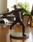 Aktuality - Autorem nové sochy je bystřický kovář