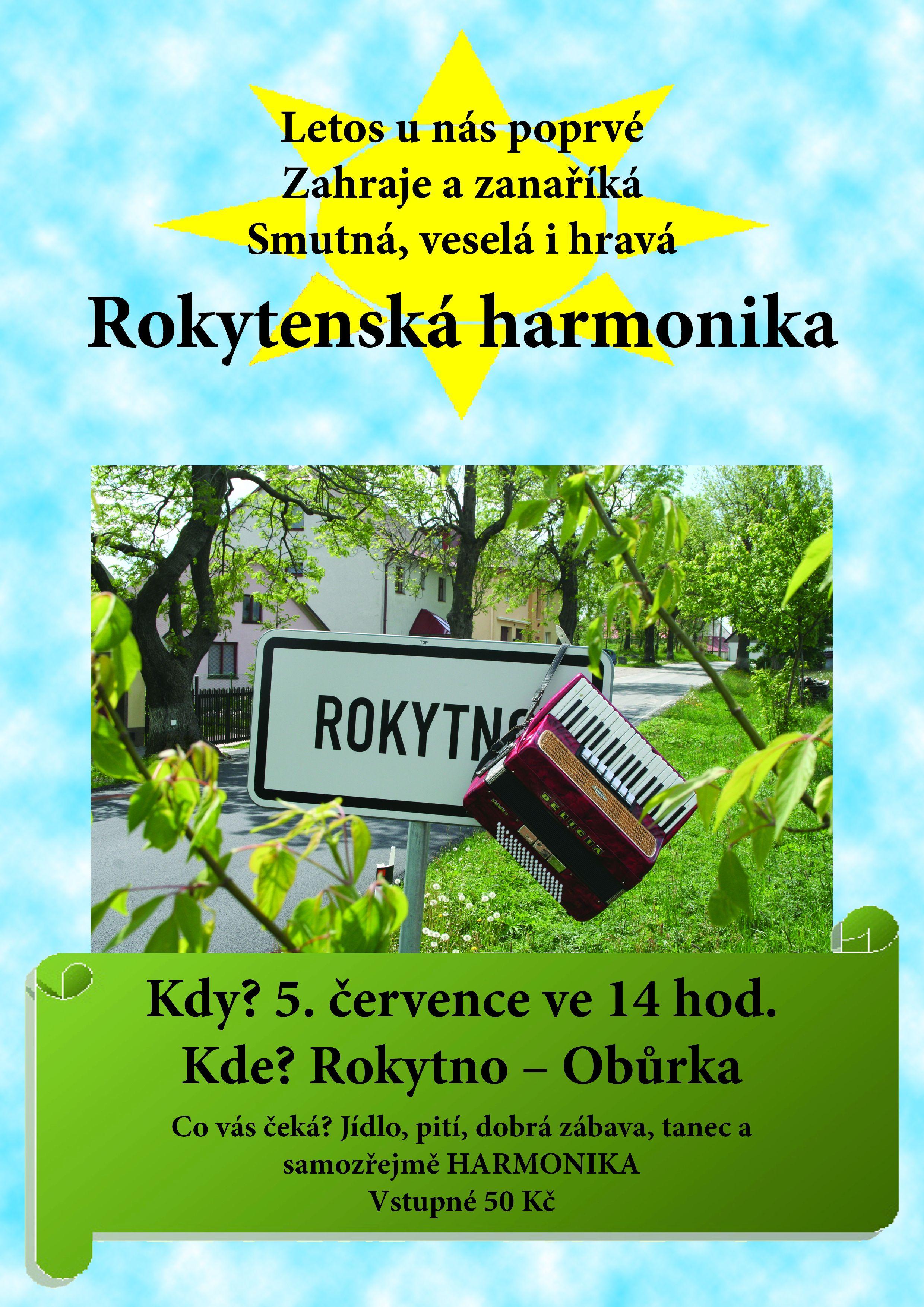 Aktuality - Rokytenská harmonika