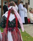 Vojtěch Cikrle odsloužil mši a požehnal křížovou cestu