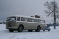 Vysočinou projíždí historický autobus