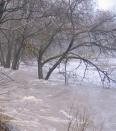 Aktuality - Tání opět provázelo vylití řek z břehů