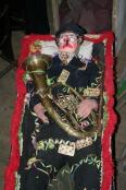 Masopust v Rozsochách končí pochováním muzikanta