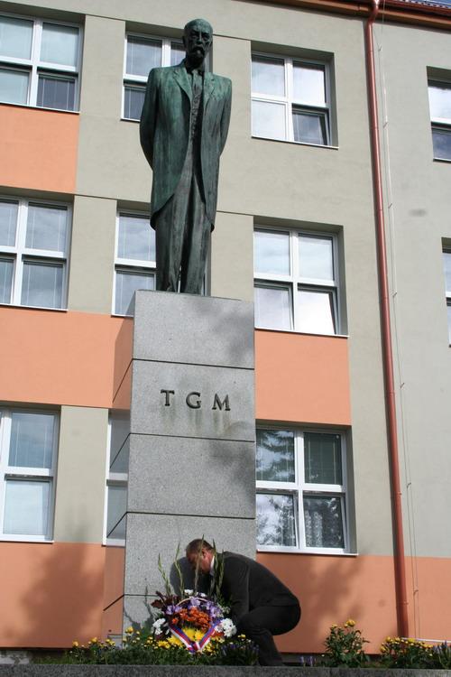 Aktuality - Bystřičtí uctili památku T. G. Masaryka