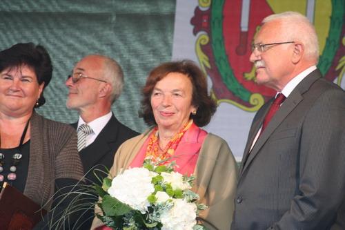 Prezidentovi se v Novém Městě na Moravě líbilo