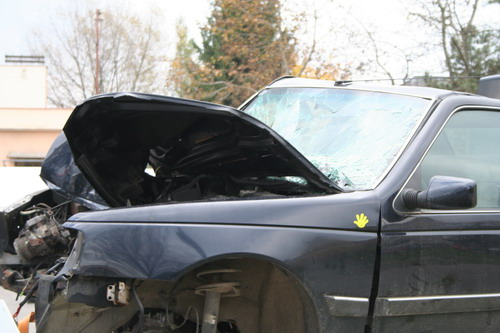 Aktuality - Ve Žďáře si řidiči mohli vyzkoušet dopravní nehodu nanečisto