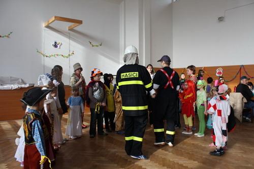 Rokytenský karneval byl opět pod taktovkou hasičů