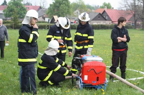 Dobrovolní hasiči trénovali na Studnicích