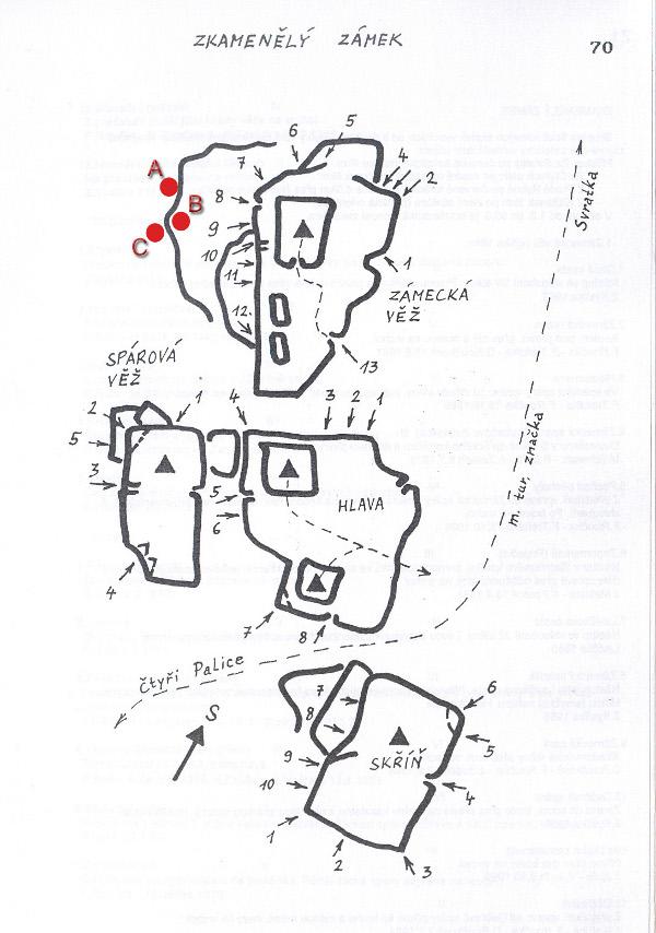 Aktuality - Průvodce bouldry 7 - Zkamenělý zámek