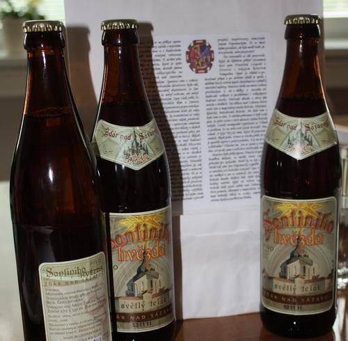 Santiniho hvězdu bude distribuovat havlíčkobrodský pivovar